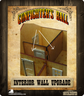 Gunfighter's Ball: Interior Wall Upgrade