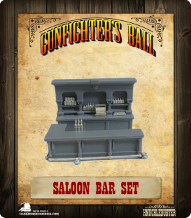 Gunfighter's Ball: Saloon Bar Set