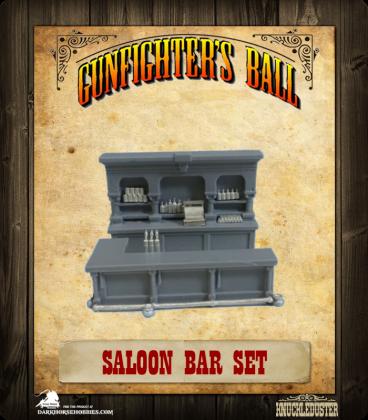Gunfighter's Ball: Saloon Bar Set