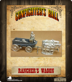 Gunfighter's Ball: Rancher's Wagon