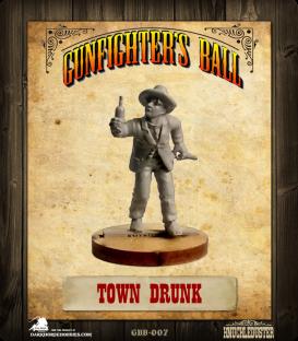 Gunfighter's Ball: Town Drunk