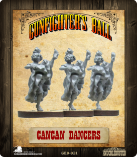 Gunfighter's Ball: Cancan Dancers