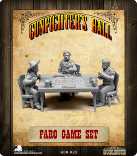 Gunfighter's Ball: Faro Set