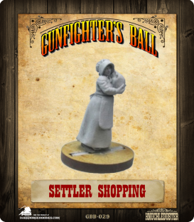 Gunfighter's Ball: Settler Shopping