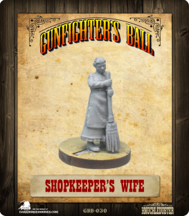Gunfighter's Ball: Shopkeeper's Wife