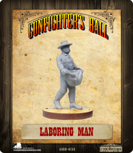 Gunfighter's Ball: Laborer with Bag