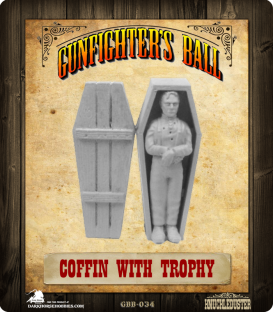 Gunfighter's Ball: Coffin with Trophy