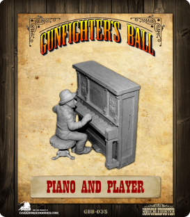 Gunfighter's Ball: Piano and Player