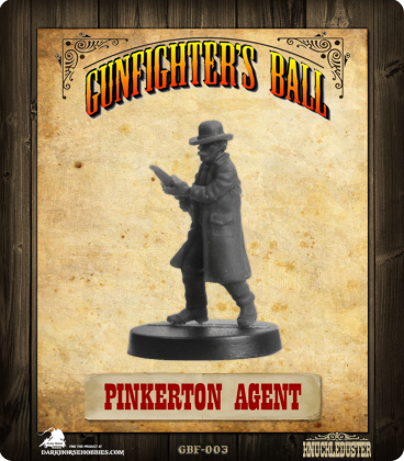 Gunfighter's Ball: Pinkerton Agent