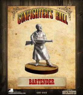 Gunfighter's Ball: Bartender
