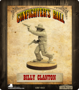 Gunfighter's Ball: Billy Clanton