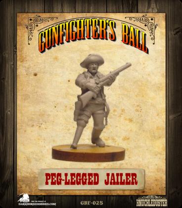 Gunfighter's Ball: Peg-Legged Jailer