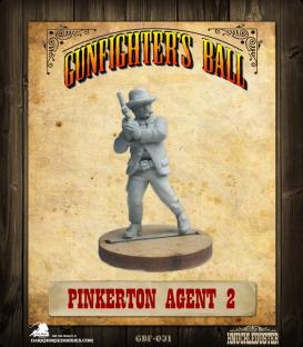 Gunfighter's Ball: Pinkerton Agent 2