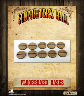Gunfighter's Ball: Floorboard Bases Pack