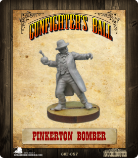 Gunfighter's Ball: Pinkerton Bomber