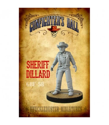 Gunfighter's Ball: Sheriff Dillard