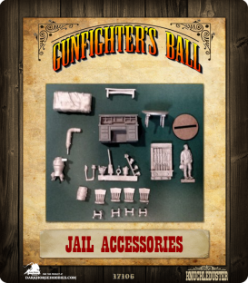 Gunfighter's Ball: Jail Accessories