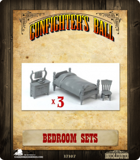 Gunfighter's Ball: Bedroom Set