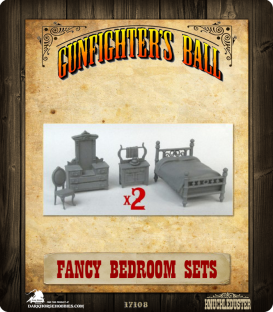 Gunfighter's Ball: Fancy Bedroom Set