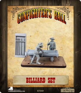 Gunfighter's Ball: Billiard Set