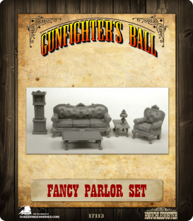 Gunfighter's Ball: Fancy Parlor Set