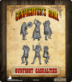 Gunfighter's Ball: Gunfight Casualties