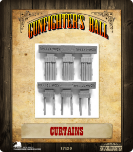 Gunfighter's Ball: Curtains Set