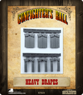 Gunfighter's Ball: Heavy Drapes Set