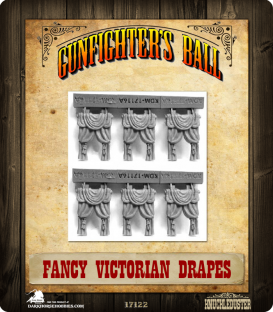 Gunfighter's Ball: Fancy Victorian Drapes Set