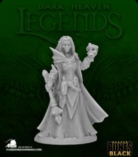 Dark Heaven Bones Black: Dark Elf Priestess