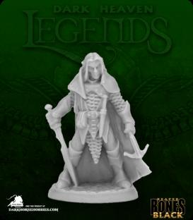 Dark Heaven Bones Black: Dark Elf Male Warrior
