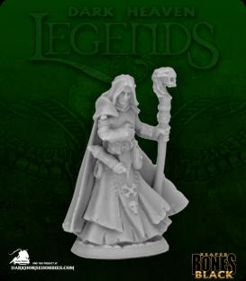 Dark Heaven Bones Black: Dark Elf Wizard