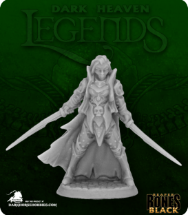 Dark Heaven Bones Black: Dark Elf Elite