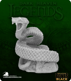 Dark Heaven Bones Black: Giant Snake