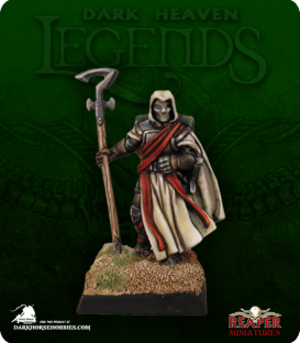 Dark Heaven Legends: Inquisitor, Malvernis (painted by Marike Reimer)