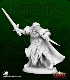 Dark Heaven Legends: Anduriel, Elf Paladin