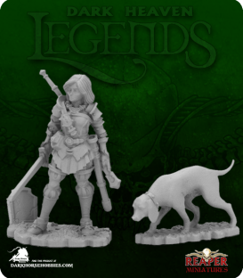 Dark Heaven Legends: Dreadmere Iconic - Duskwarden & Hound
