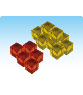 Wings of Glory: Tripods & Triplanes - Energy Cubes Set
