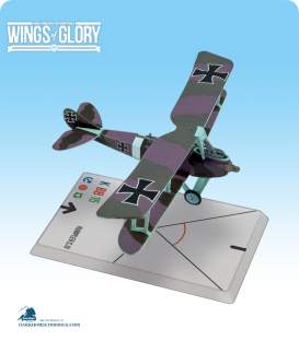 Wings of Glory: WW1 Rumpler C.IV (Luftstreitkräfte 8256) Airplane Pack