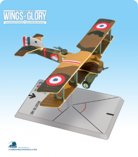 Wings of Glory: WW1 Breguet BR.14 B2 (Escadrille Br 111) Airplane Pack