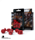 Dragons Red-Black Polyhedral Dice Set