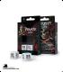 Pirate White-Black 2D6 Dice Set