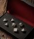Pathfinder Metal-Black Polyhedral Dice Set