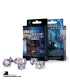 Classic RPG Translucent Blue-Red Polyhedral Dice Set