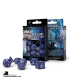 Classic RPG Cobalt-White Polyhedral Dice Set