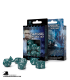 Classic RPG Stormy-White Polyhedral Dice Set