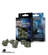 Classic RPG Olive-White Polyhedral Dice Set