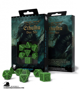 Call of Cthulu The Outer Gods Cthulu Dice Set
