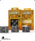 Steampunk Metal-Black D6 Dice Set