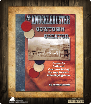 Knuckleduster Cowtown Creator Book